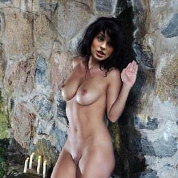 Irina Muromceva nahá