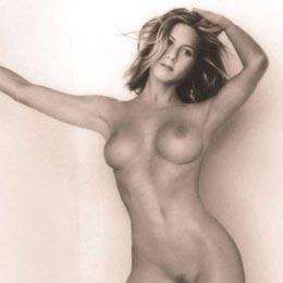 Jennifer Aniston nahá