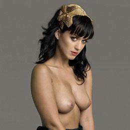 Katy Perry nahá