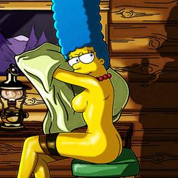 Marge Simpson nahá