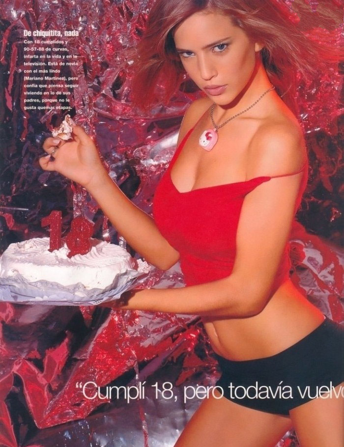 Luisana Lopilato nahá. Foto - 17