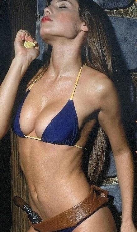 Luisana Lopilato nahá. Foto - 9