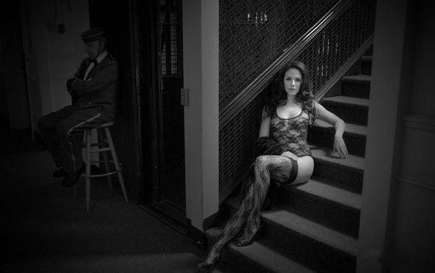 Anna Silk nahá. Foto - 6