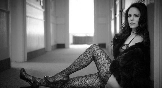 Anna Silk nahá. Foto - 9