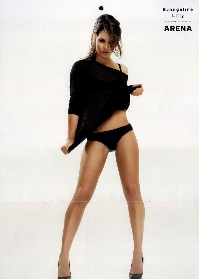 Evangeline Lilly nahá. Foto - 13
