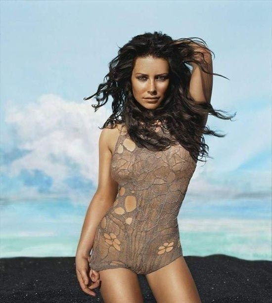 Evangeline Lilly nahá. Foto - 14