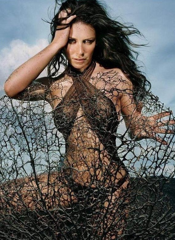 Evangeline Lilly nahá. Foto - 17