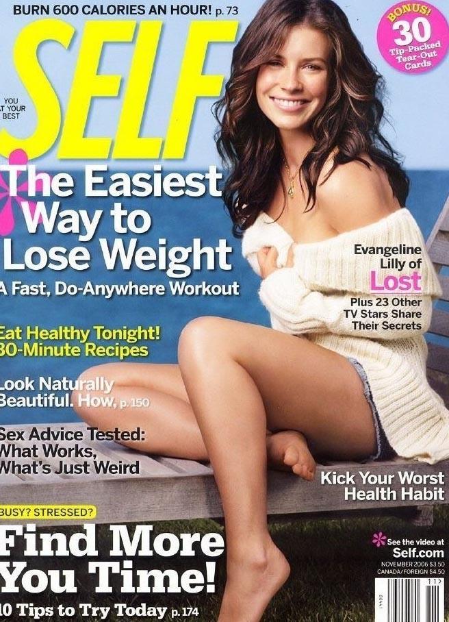 Evangeline Lilly nahá. Foto - 3