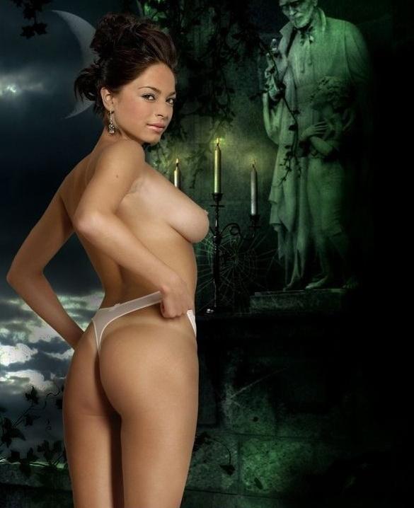 Kristin Kreuk nahá. Foto - 7