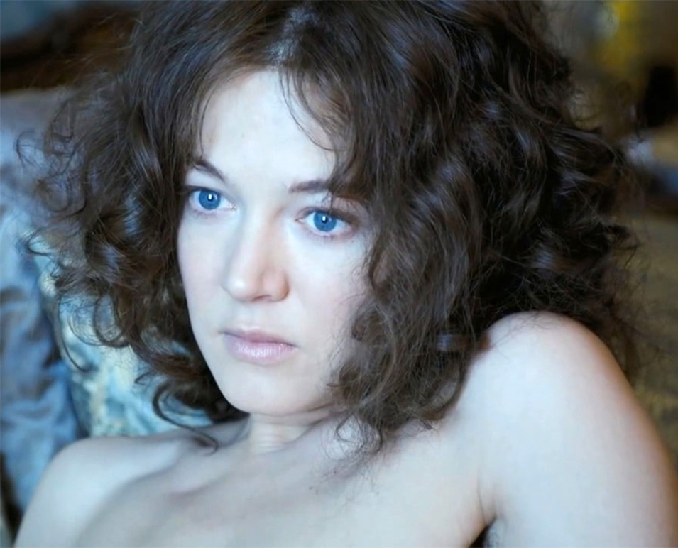 Hannah Herzsprung nahá. Foto - 4