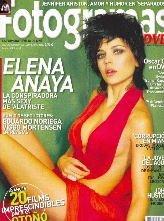 Elena Anaya nahá. Foto - 15