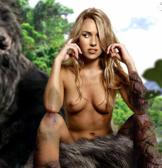 Naomi Watts Sexy Scene In King Kong