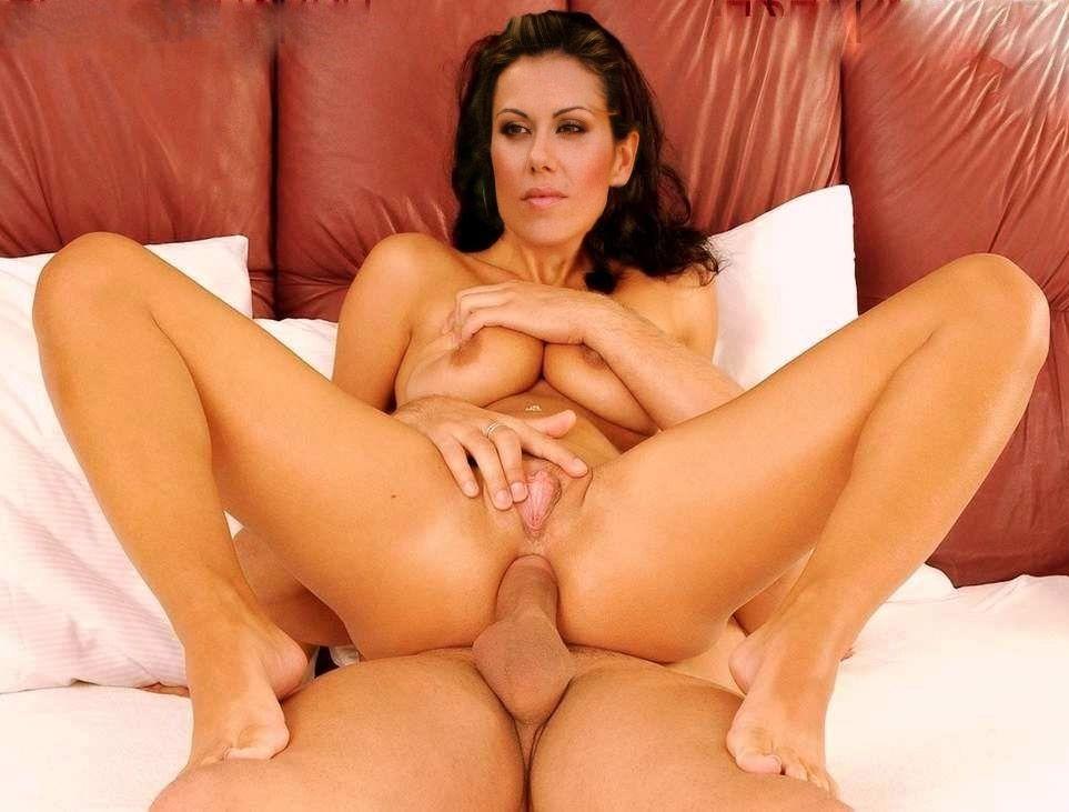 Eugenia Manolidou nahá. Foto - 1