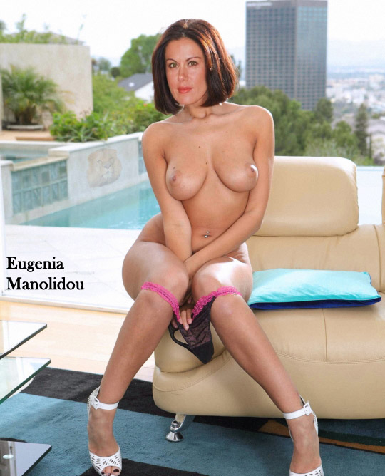 Eugenia Manolidou nahá. Foto - 19
