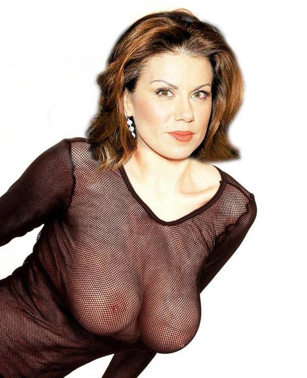 Eugenia Manolidou nahá. Foto - 29