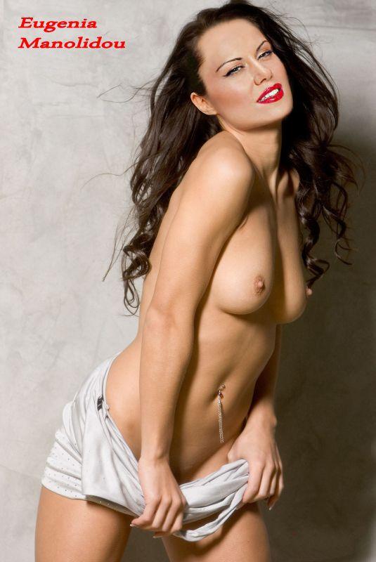 Eugenia Manolidou nahá. Foto - 6