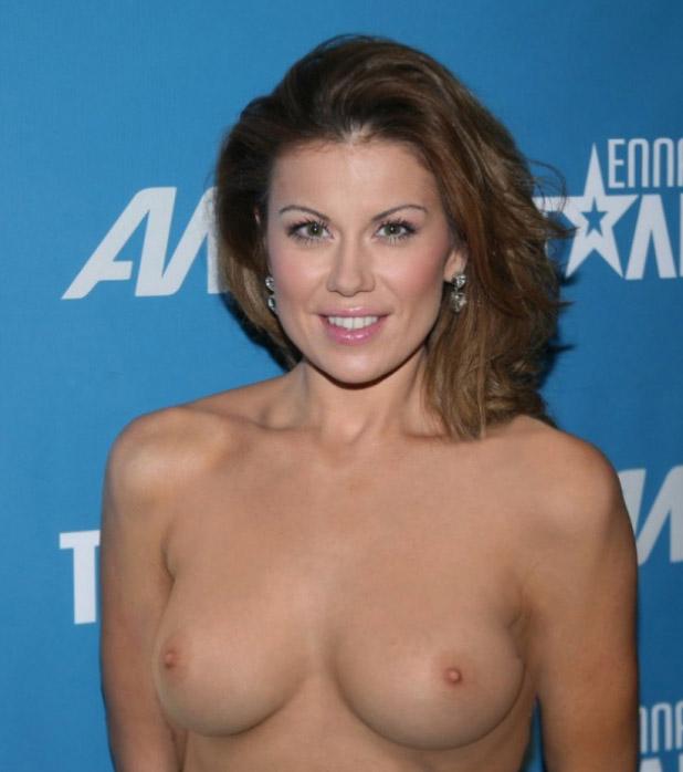 Eugenia Manolidou nahá. Foto - 9