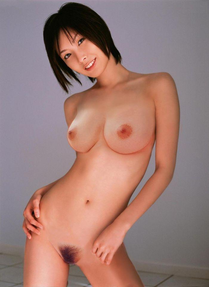 長澤 奈央 Nackt. Foto - 3