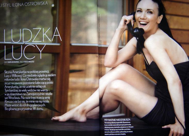 Ilona Ostrowska  nackt