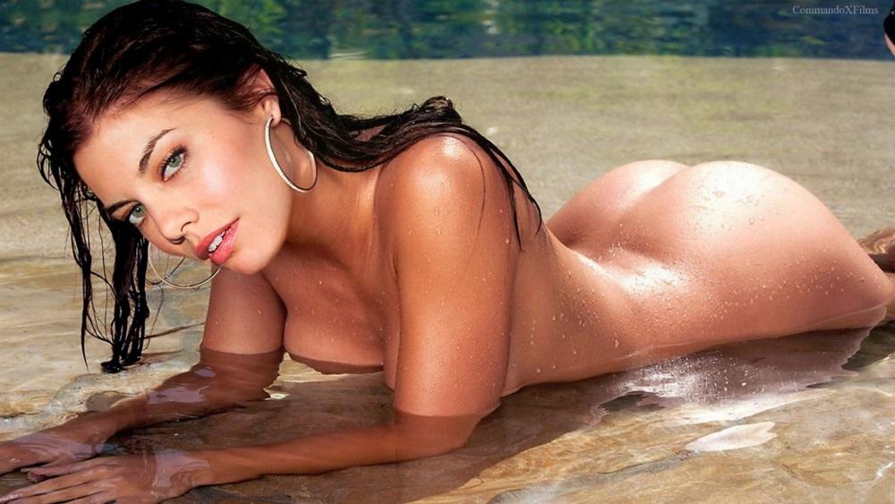 Lauren Cohan nahá. Foto - 23