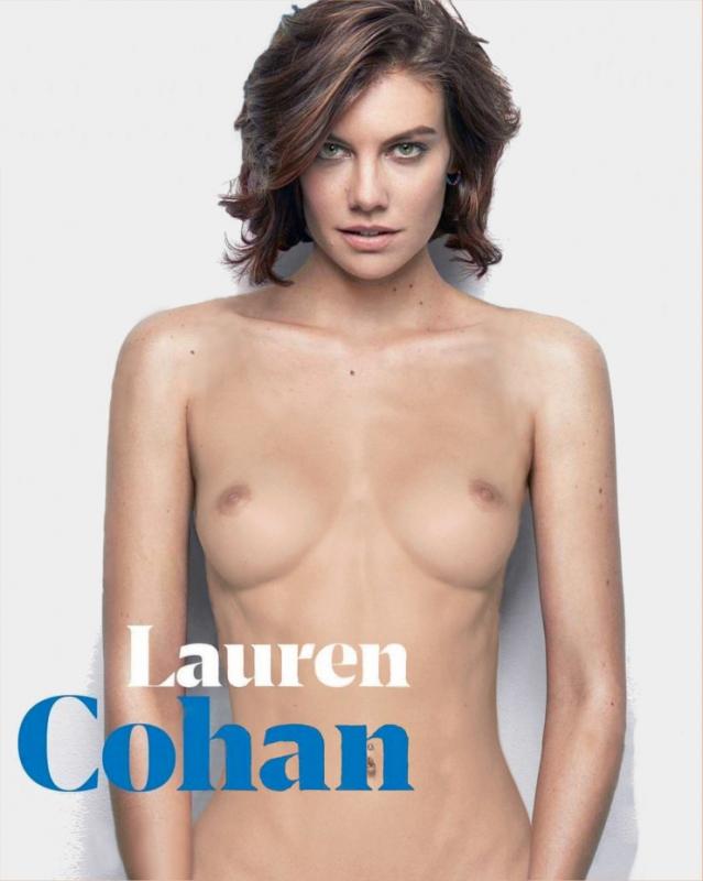 Lauren Cohan nahá. Foto - 31