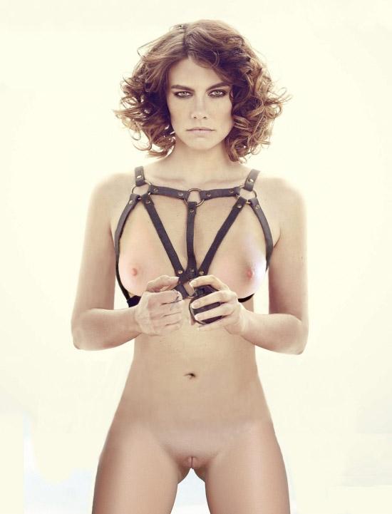 Lauren Cohan nahá. Foto - 59