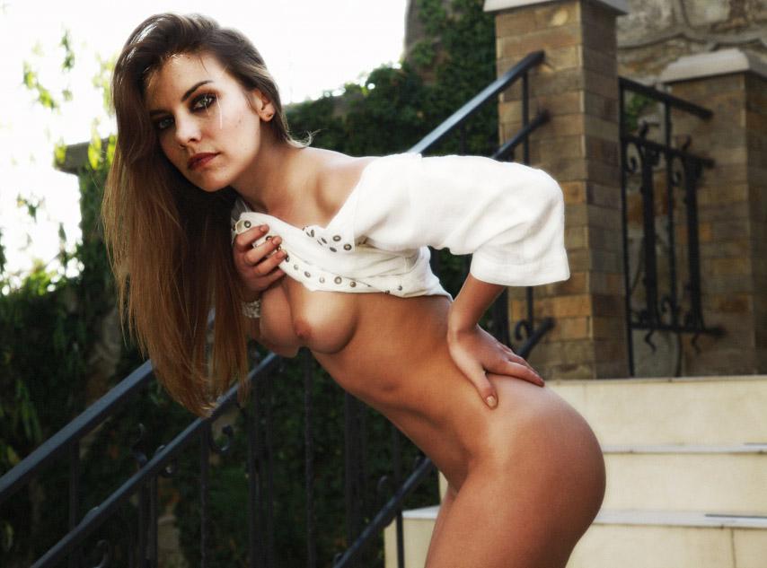 Lauren Cohan nahá. Foto - 62