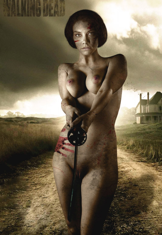 Lauren Cohan nahá. Foto - 71