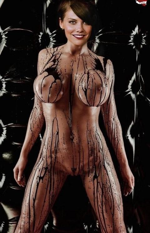 Cohan naked lauren Lauren Cohan