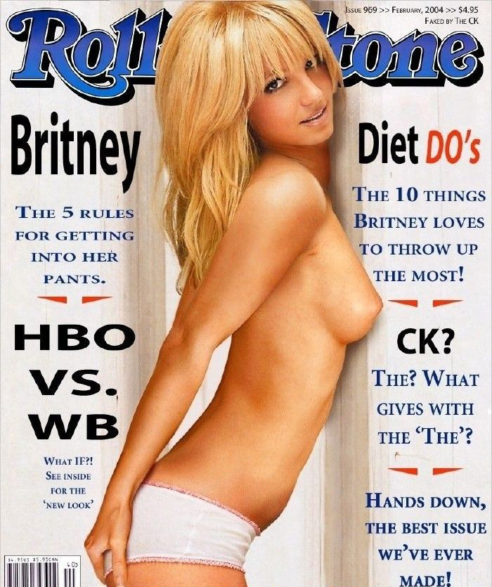 Britney Spears nude. Photo - 85