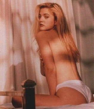 Drew Barrymore nahá. Foto - 11