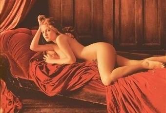 Drew Barrymore nahá. Foto - 13