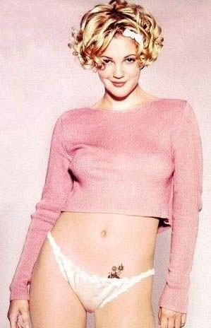 Drew Barrymore nahá. Foto - 14