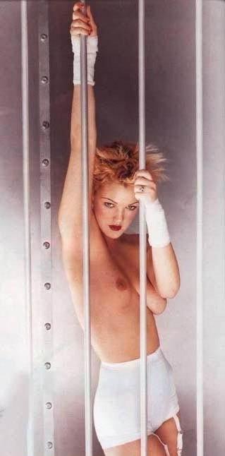 Drew Barrymore nahá. Foto - 20