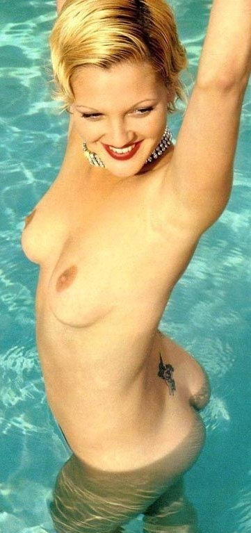 Drew Barrymore nahá. Foto - 24