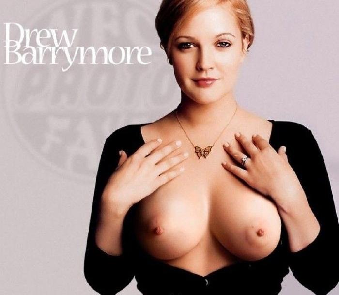 Drew Barrymore nahá. Foto - 32