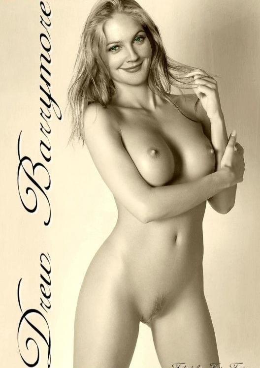 Drew Barrymore nahá. Foto - 33