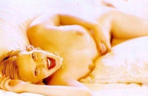 Drew Barrymore nahá. Foto - 4