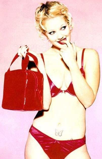 Drew Barrymore nahá. Foto - 8