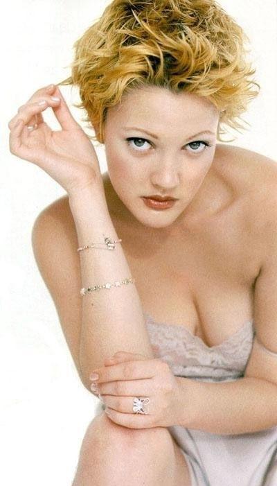 Drew Barrymore nahá. Foto - 9