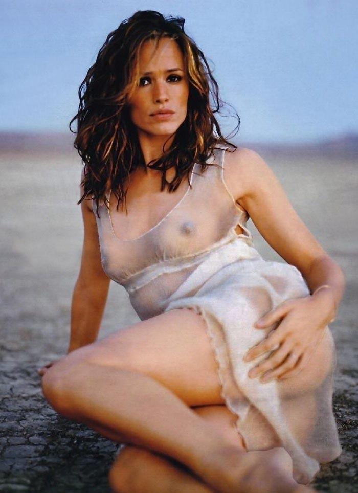 Naked jennifer garner Jennifer Garner