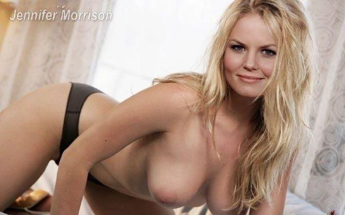Jennifer Morrison nahá. Foto - 30