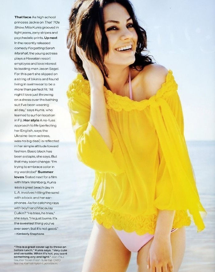 Mila Kunis nahá. Foto - 22