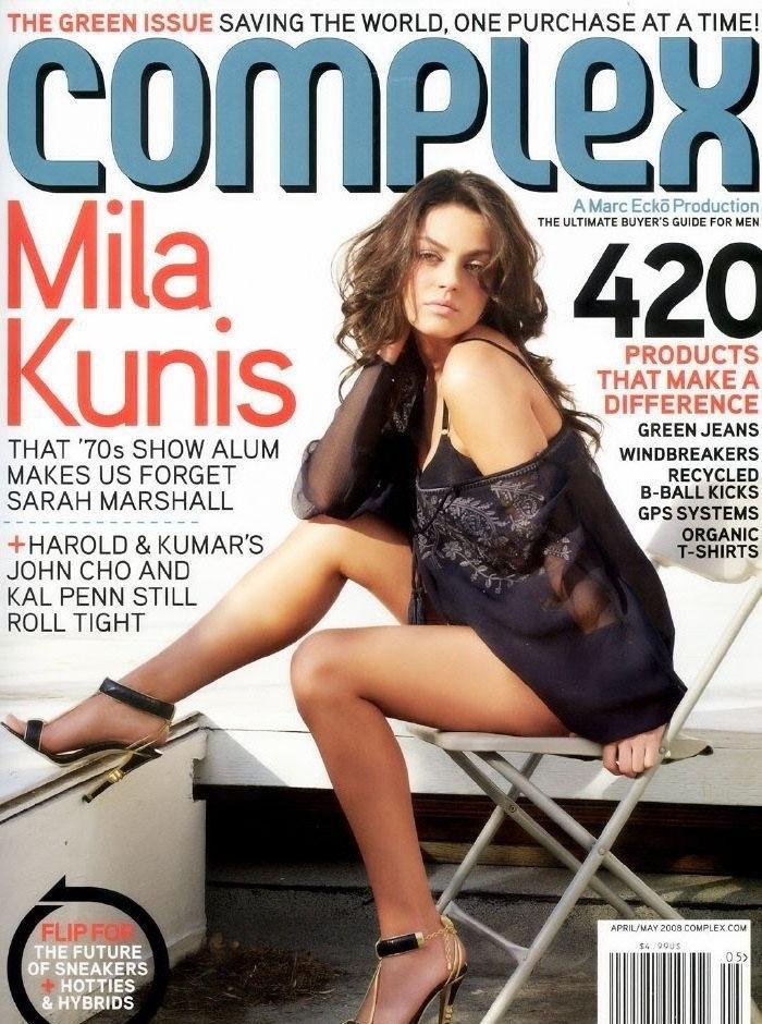 Mila Kunis nahá. Foto - 26