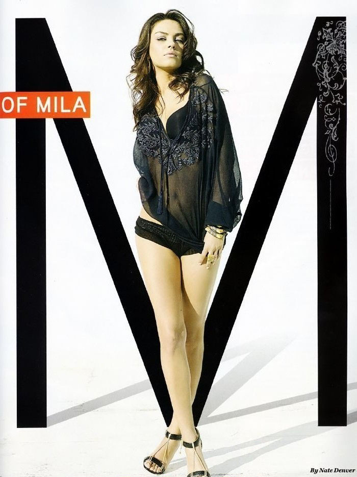 Mila Kunis nahá. Foto - 27