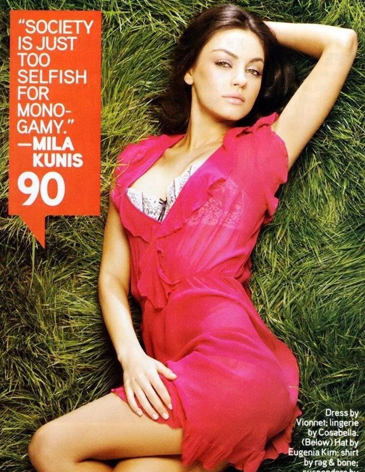 Mila Kunis nahá. Foto - 28