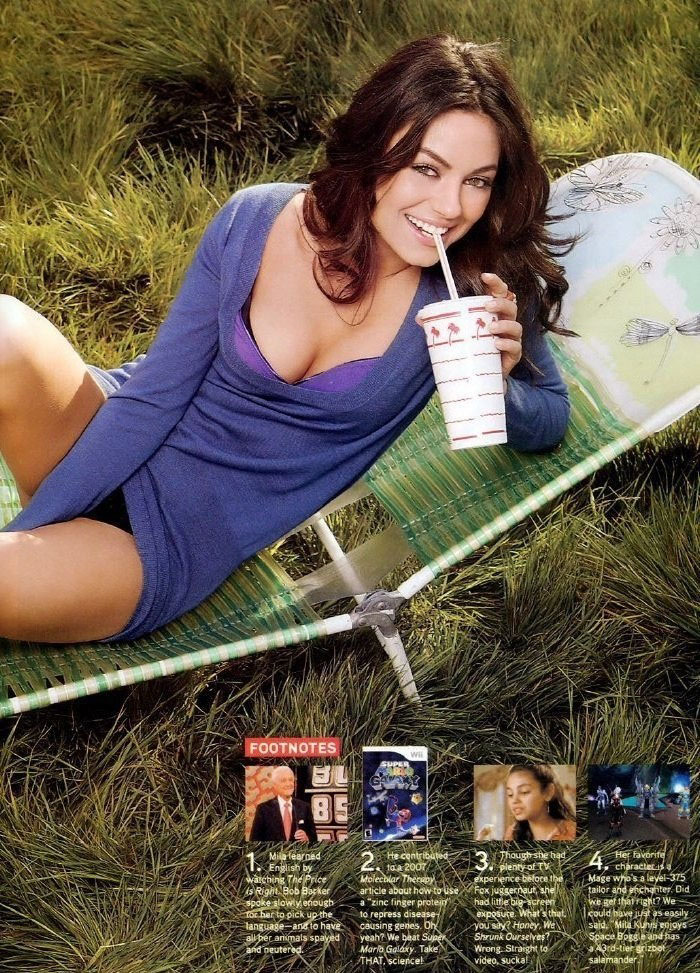 Mila Kunis nahá. Foto - 30