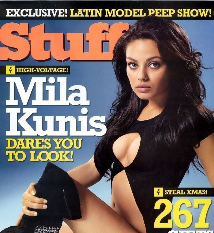Mila Kunis nahá. Foto - 31
