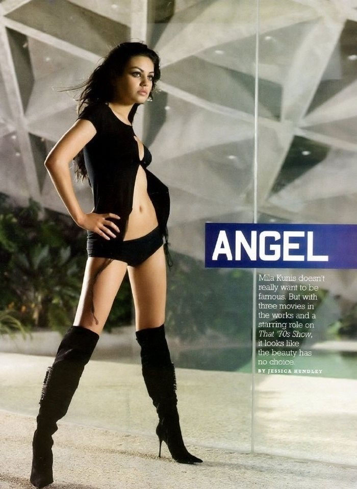 Mila Kunis nahá. Foto - 32