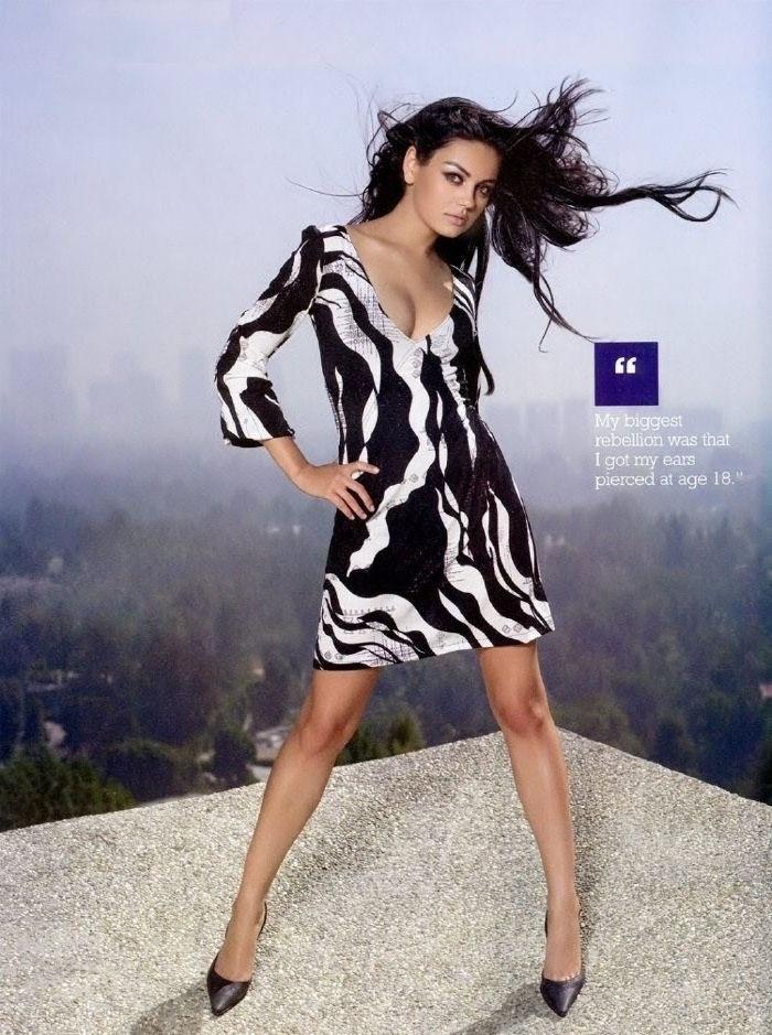 Mila Kunis nahá. Foto - 36